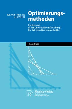Optimierungsmethoden von Kistner,  Klaus-Peter