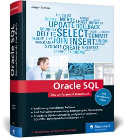 Oracle SQL von Sieben,  Jürgen