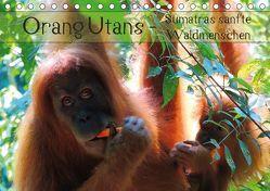 Orang Utans – Sumatras sanfte Waldmenschen (Tischkalender 2018 DIN A5 quer) von Otero,  S.B.