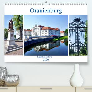 Oranienburg – Kleinod an der Havel (Premium, hochwertiger DIN A2 Wandkalender 2020, Kunstdruck in Hochglanz) von von Loewis of Menar,  Henning