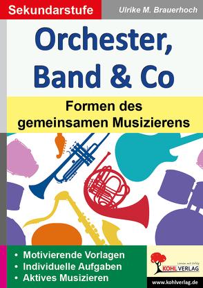 Orchester, Band & Co von Brauerhoch,  Ulrike