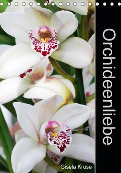 Orchideenliebe (Tischkalender 2019 DIN A5 hoch) von Kruse,  Gisela