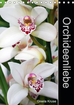 Orchideenliebe (Tischkalender 2020 DIN A5 hoch) von Kruse,  Gisela