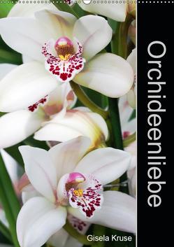 Orchideenliebe (Wandkalender 2019 DIN A2 hoch) von Kruse,  Gisela