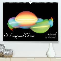 Ordnung und Chaos – Zitate und Grafiken 2021 (Premium, hochwertiger DIN A2 Wandkalender 2021, Kunstdruck in Hochglanz) von Schmitt,  Georg