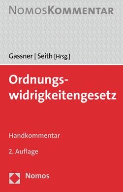 Ordnungswidrigkeitengesetz von Gassner,  Kathi, Seith,  Sebastian
