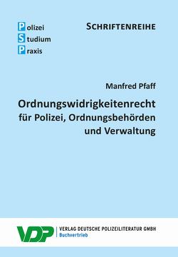 Ordnungswidrigkeitenrecht von Pfaff,  Manfred