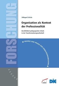 Organisation als Kontext der Professionalität von Schicke,  Hildegard