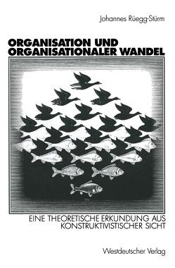 Organisation und organisationaler Wandel von Rüegg-Stürm,  Johannes