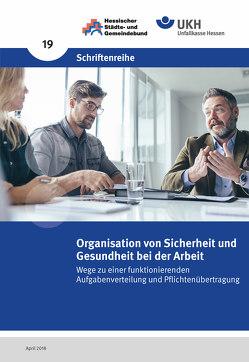 Organisation von Sicherheit und Gesundheit bei der Arbeit von Abt,  Hans Günter