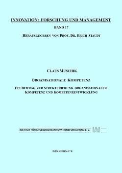 Organisationale Kompetenz von Muschik,  Claus, Staudt,  Erich