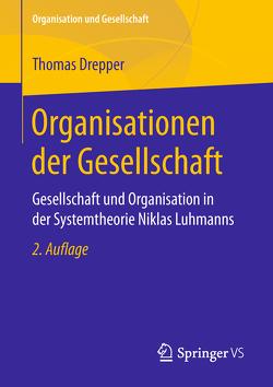 Organisationen der Gesellschaft von Drepper,  Thomas