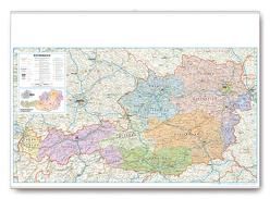 Organisations- und Postleitkarte Österreich von garant Verlag GmbH