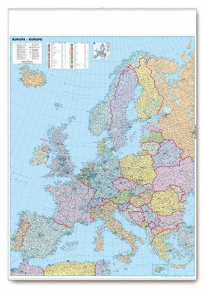 Organisations- und Straßenkarte Europa von garant Verlag GmbH