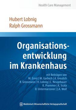 Organisationsentwicklung im Krankenhaus von Großmann,  Ralph, Lobnig,  Hubert