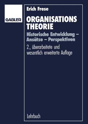 Organisationstheorie von Frese,  Erich