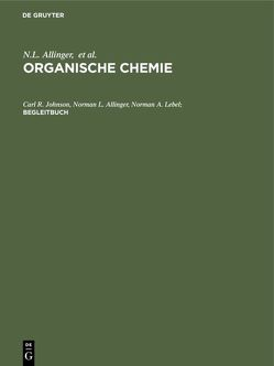 Organische Chemie / Begleitbuch von Allinger,  Norman L., Gnichtel,  Horst, Johnson,  Carl L., Lebel,  Norman A.