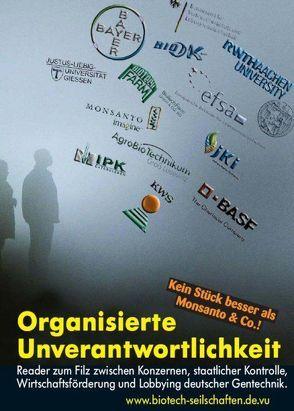 Organisierte Unverantwortlichkeit von Bergstedt,  Jörg