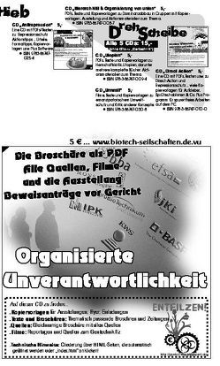Organisierte Unverantwortlichkeit CD von Bergstedt,  Jörg
