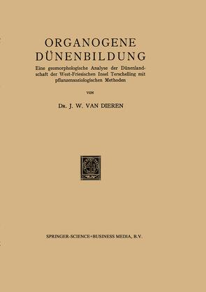 Organogene Dünenbildung von Van Dieren,  J. W.