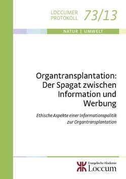 Organtransplantation: von Coors,  Michael, Müller,  Monika C.M.