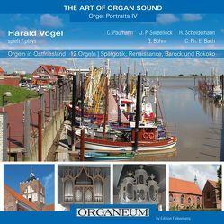 Orgeln in Ostfriesland von Vogel,  Harald