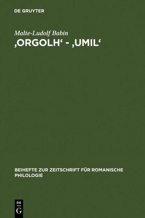 'orgolh' – 'umil' von Babin,  Malte-Ludolf