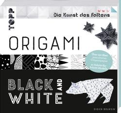Origami Black & White (Die Kunst des Faltens) von Boursin,  Didier
