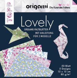 Origami Faltblätter Lovely von Täubner,  Armin
