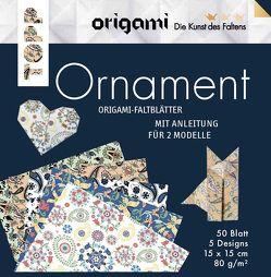 Origami Faltblätter Ornament von Täubner,  Armin