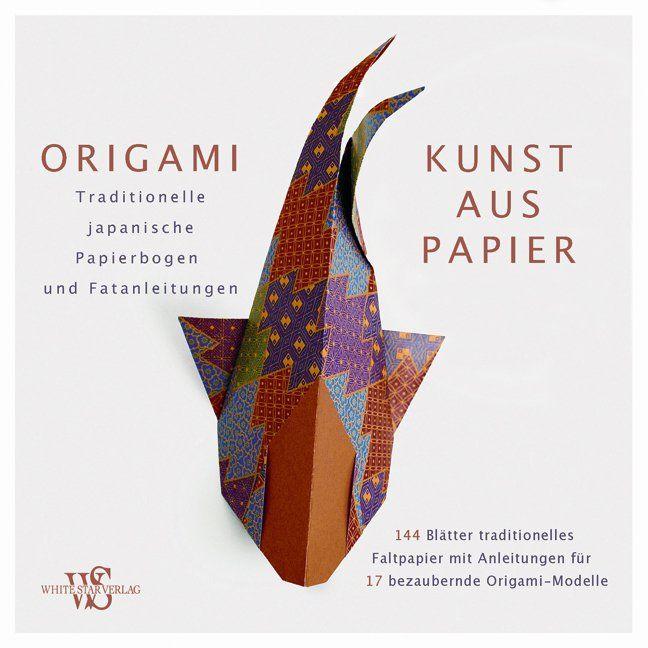 origami kunst aus papier von traditionelle japanische papierbogen u