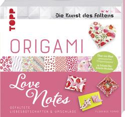 Origami Love Notes (Die Kunst des Faltens) von Temko,  Florence
