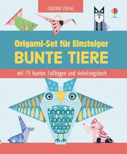 Origami-Set für Einsteiger: Bunte Tiere von Allen,  Sarah, Argijale, Bowman,  Lucy