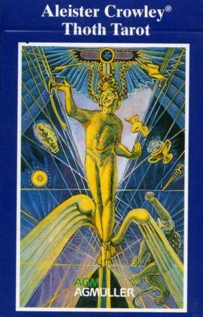 Original Aleister Crowley Thoth Tarot von Crowley,  Aleister, Harris,  Frieda