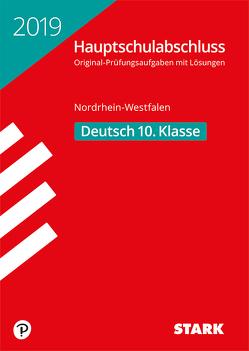 Original-Prüfungen Hauptschulabschluss 2019 – Deutsch – NRW