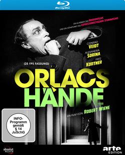 Orlacs Hände (Blu-Ray, 25 fps Fassung) von Kortner,  Fritz, Renard,  Maurice, Veidt,  Conrad, Wiene,  Robert