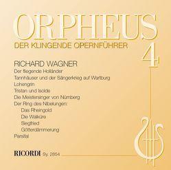 ORPHEUS – Der klingende Opernführer von Lerchbaumer,  Peter, Stegemann,  Benedikt