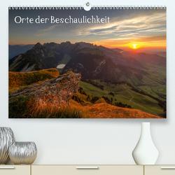 Orte der Beschaulichkeit (Premium, hochwertiger DIN A2 Wandkalender 2021, Kunstdruck in Hochglanz) von Schnitzler,  Harald
