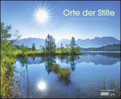 Orte der Stille 2019 – Wandkalender 52 x 42,5 cm – Spiralbindung von DUMONT Kalenderverlag, Krahmer,  Frank