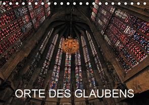 Orte des Glaubens (Tischkalender 2021 DIN A5 quer) von Blume,  Hubertus
