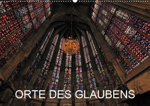Orte des Glaubens (Wandkalender 2021 DIN A2 quer) von Blume,  Hubertus