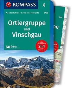 Ortlergruppe und Vinschgau von Föger,  Manfred