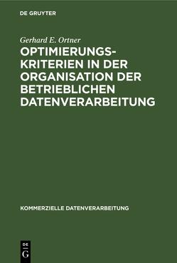 ORTNER:OPTIMIERUNGSKRITERIENKD