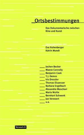 Ortsbestimmungen von Hohenberger,  Eva, Mundt,  Eva