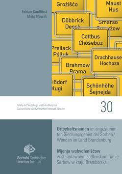 Ortschaftsnamen im angestammten Siedlungsgebiet der Sorben/Wenden im Land Brandenburg