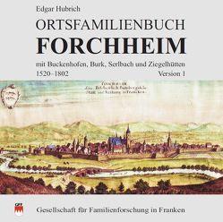 Ortsfamilienbuch Forchheim von Hubrich,  Edgar