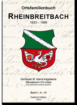 Ortsfamilienbuch Rheinbreitbach 1638-1909 von Hölzer,  Hartmut