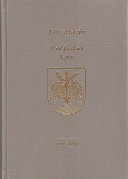 Ortssippenbuch Erbsen von Ausmeyer,  André