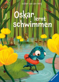 Oskar lernt schwimmen von van den Berg,  Esther, Veenstra,  Simone