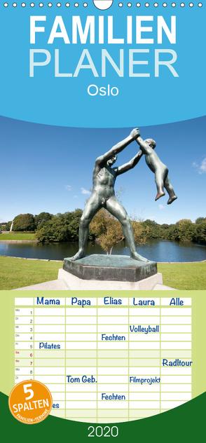 Oslo – Familienplaner hoch (Wandkalender 2020 , 21 cm x 45 cm, hoch) von Schneider www.ich-schreibe.com,  Michaela